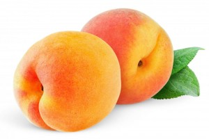 peaches for healthy and glowing skin