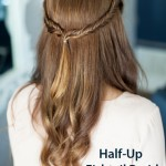 Half-Up Fishtail Braid Hairstyle