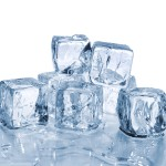 ice cubes to remove acne scars