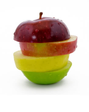 apples for glowing skin