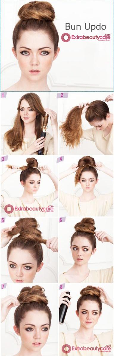 Bun-Updo-hairstyle