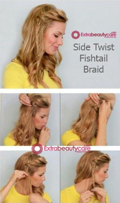 Side-twist-fishtail-braid