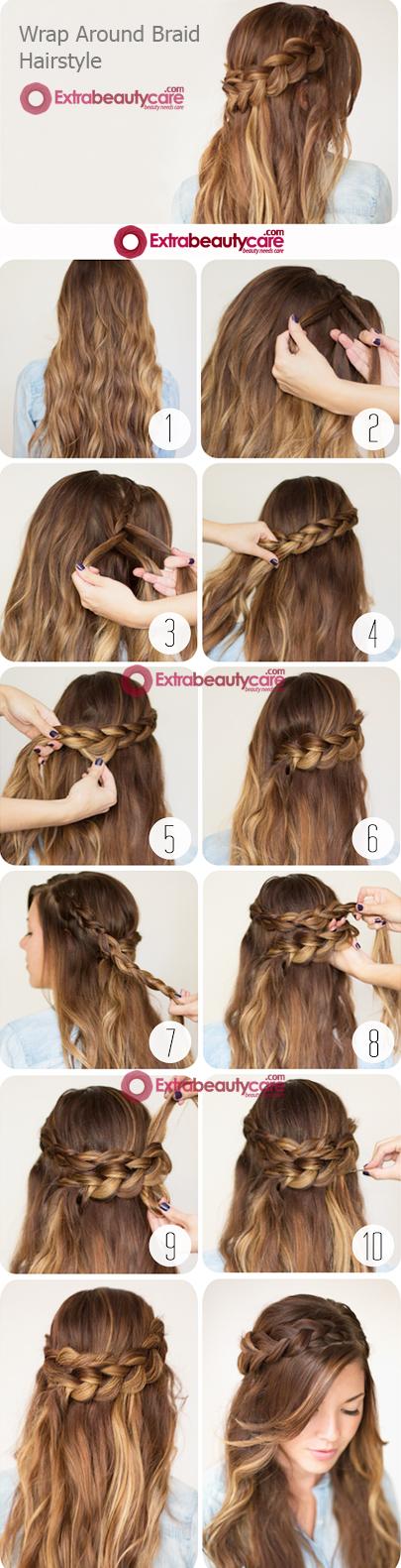 Wrap-around-braid-hairstyle