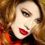 how to apply red lip stick