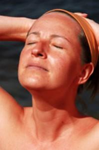 Sunburnt Woman